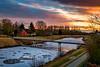 Abends am Sauteler Kanal (klaus.bostelmann) Tags: warsingsfehn sautelerkanal ostfriesland moormerland