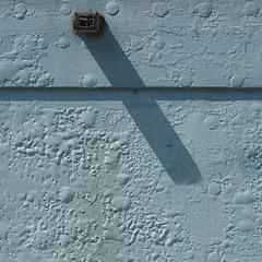 Minimal Square - Blue (Visual Stripes) Tags: minimal square composition shadow texture