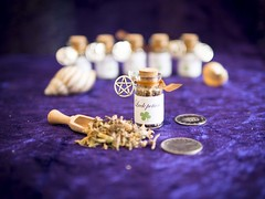Luck Potion (marcusbentus) Tags: spellcasting mystic crystal witchcraft whitewitch witch white pagan wican wicca magic you for spell aspellforyou gx7 lumix panasonic 25f14 summilux dg leica enchantment wish desire protect protection herb herbs healing love luck potion bottle macro magicpotion
