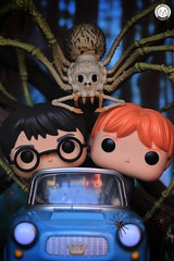 Can we panic now? (PrinceMatiyo) Tags: toyphotography spider harrypottercar aragog harrypotter ronweasley popvinyl funko