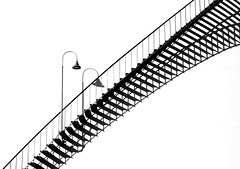 Ascend - Phoenix, AZ (Steve O'Day) Tags: canon phoenix arizona shadows monochrome stairs staircase photography