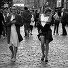 Walking with charm on the Royal Mile (Gabriel Navarro Carretero) Tags: girls chicas mujeres womens street streetphoto streetphotography fotografíacallejera blancoynegro blackandwhite blackwhite bn bnw edinburgh edimburgo scotland escocia scottish pentax pentaxart charm gente people royalmile