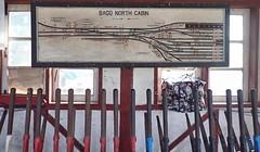 Bago Burma 15th January 2018 (loose_grip_99) Tags: bago pegu burma myanmar asia railway railroad rail trains railways signalbox signalling diagram north box levers january 2018