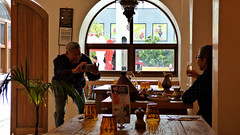Massey, West Auckland, New Zealand (Sandy Austin) Tags: panasoniclumixdmcfz70 sandyaustin massey auckland westauckland northisland newzealand diners lunch casablanca café restaurant