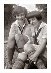 Portrait 077-15 (Steve Given) Tags: socialhistory familyhistory friends girls teens teenagers