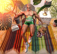 don't cry for love (CodyAdored) Tags: cubura second life virtual reality male fashion