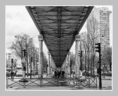 The City . (kitchou1 Thanx 4 UR Visits Coms+Faves.) Tags: winter exterior city sky cityscape paris nature street people trees architecture landscape bw europe france world arbres nb