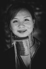 Padaung Girl (♥siebe ©) Tags: 2018 baantongluang chiangmai siebebaardafotografie thai thailand hilltribe hilltribesvillage portrait wwwsiebebaardafotografienl เชียงใหม่ ไทย ประเทศไทย เมืองไทย รูปคน portret girl