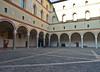 Castello Sforzesco # 4 (schreibtnix on 'n off) Tags: reisen travelling italien italy mailand milan castellosforzesco schatten shadows mauer wall befestigung fortification hof court olympuse5 schreibtnix