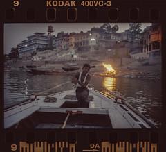 Ganges River Benares/Varanasi India 2009 (lylevincent) Tags: benares cremation ganges varanasi banares india leica 35mm