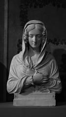 Principessa Massimo (Lylise) Tags: rome roma italia italy buste busto mulher donna women sculpture escultura blackandwhite noiretblanc