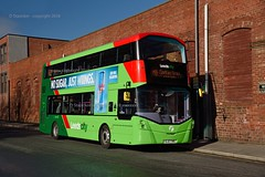 its a good man who could predict that wright (D Stazicker Photography) Tags: sl67vws wright streetdeck 35266 leeds city transport first