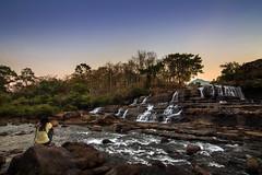 Landscape, Laos (pas le matin) Tags: rock sky tree ciel arbre travel laos lao asia asie world southeastasia sunset coucherdesoleil canon 7d canon7d canoneos7d eos7d