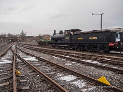Locomotion @ Shildon 2018 02 14 #4 (Gareth Lovering Photography 4,000,423) Tags: nrm railway museum shildon york trains locomotion locomotive national steam deltic apte winstonchurchill churchill black5 greenarrow