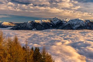 Über den Wolken..
