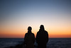 sunset (Sitoo) Tags: sunset mallorca baleares illesbalears silhouette siluetas sky red sea mediterranean mediterraneo travel two 2 people couple