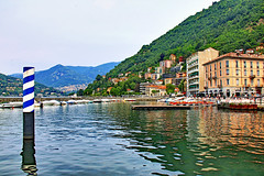 Como Hafen (2) (menzelhd) Tags: como hafen comersee lombardei italien see