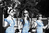 Blue Girls (Tony Howsham) Tags: canon eos70d sigma 18250 os iwm duxford blue girls singers colour pop