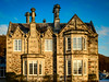 Hillhead (grahamrobb888) Tags: dunkeld lowsun panorama woodland filters d800 nikond800 nikon nikkor house villa sunlight comfortable bluesky warm baywindows