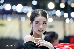 Pretty Lady-3 , Thailand Motor Expo (Chula Amonjanyaporn) Tags: จุฬา อมรจรรยาภรณ์ amonjanyaporn chula sony ilce7rm2 motor show expo thailand bangkok motorshow model girl beautiful beauty woman lady nice eye people