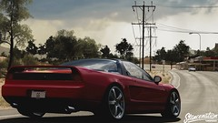 Forza Horizon 3 (TheFaNTaS11) Tags: honda nsx acura nsxr 1992 1993 red stance stanced slammed camber cambergang v6 nissan gtr forza horizon 3 thefantas11