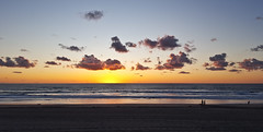 winter walk on the beach (ranchodon) Tags: sandiego beach surf sunset