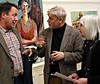 Steve des Landes Private View - Un-settled (10) (ronramstew) Tags: exhibition privateview stevedeslandes paintings wirral birkenhead merseyside williamsonartgallery january 2018 2010s artist painter oiils unsettled oils