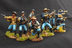 1/32 1/30 Paragon US 7th Cavalry 1876 (1/72 and 1/32 Painted Miniatures Collection) Tags: painted indian wars colonial us 7th cavalry 132 130 54mm little bighorn custer last stand