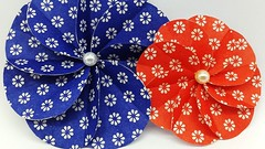 DIY Paper Flowers Making with Colors Paper | Scrapbook Spiral Flower (ufnmimcp) Tags: youtube origami papers made colors paper