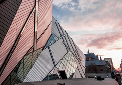 Architectural detail of Royal ontario museum (Ncor: Photography) Tags: toronto travel design architecture metal crystal bloor landmark canada rom modern ontario museum royal reflection city blue exhibition abstract metropolis leechin heritage closeup exterior libeskind road facade glass angled detail extension art architect sky engineering street sunlight windows visitors cladding light night sidewalk contemporary perspective white royalontariomuseum addition editorial sunny architectural controversial dramatic urban building