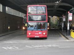 9823 - LG52 XZA. Formally numbered TA123. (wagn1) Tags: dennistrident alexanderalx400bodywork abellio abelliolondon travellondon nationalexpress connex connexbus transportforlondon tfl londontransport londonbuses buses canadawater london