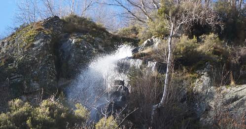 Senderismo por Cascadas Aguas Cemidas Zamora Fotografía Tomás Sanz