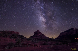 Sedona milky way remastered