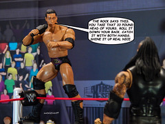 The Rock Says 2 (metaldriver89) Tags: therock rock dwayne johnson undertaker taker theundertaker phenom lordofdarkness ministryofdarkness ministry wwe wwf extremesets action figure figures actionfigure actionfigures acba articulatedcomicbookart articulated comic book art toys toy toyphotography 316 wrestler jr jimross wrestlemania stormcollectibles storm collectibles wweelite mattel matteltoys people