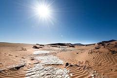 Sossusvlei Sunburst (Jeremy J Saunders) Tags: explore travel burst sun sand desert namibia africa d800 nikon jeremyjsaunders jjs deadvleisossusvleinamibia
