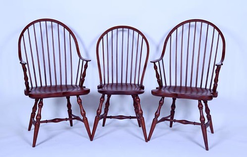 Cherry Reproduction Windsor Chairs ($588.00)
