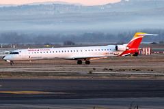 EC-MSB Iberia Regional Operated by Air Nostrum Canadair CRJ-1000 Madrid Barajas Airport (Vanquish-Photography) Tags: ecmsb iberia regional operated by air nostrum canadair crj1000 madrid barajas airport lemd mad madridbarajas madridbarajasairport