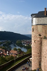 Castle and River (archigeo12) Tags: castle river wall view landscape burg fluss travel wertheim bayern germany nikon d1x