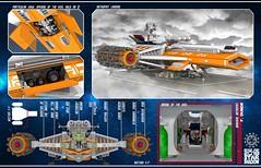 Star Shadow 22 (messerneogeo) Tags: messerneogeo star shadoww lego spaceship astrofist