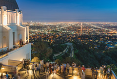 Griffith Observatory (meeyak) Tags: griffithobservatory griffithpark griffith observatory museum la losangeles california usa night nightphotography people tourist travel vacation outdoors winter citylights view meeyak sony a7r2 55mm 28mm ndfilter longexposure