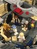 The famous scene inside the Millennium Falcon (DanBen20) Tags: legomillenniumfalcon legoship chewbacca legostarwars custom mods millenniumfalcon r2d2 c3po obiwan lukeskywalker hansolo starwars lego