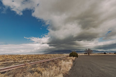(el zopilote) Tags: 500 westmesa albuquerque newmexico sandiamountains street landscape powerlines clouds canon eos7d canonefs1018mmf4556isstm