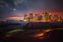 Luminance (AirHaake) Tags: newyork newyorkcity skyline dusk sunset longexposure longexposurephotography mood color