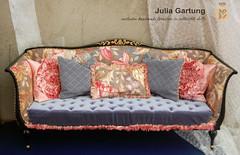 "Sofa ""Liliya"" 1:4 LE4 №1 (JuliaGart) Tags: furniture furnitureforthesybarite furniturefordolls scale 14 numina devadolls sofa order pillow kd julia gartung"