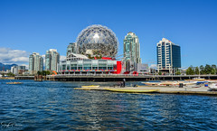 Science World - Vancouver, BC Canada (SonjaPetersonPh♡tography) Tags: vancouver bc britishcolumbia canada nikon nikond5200 falsecreek falsecreekferries scienceworld scienceworldattelusworldofscience telusworldofscience downtownvancouver vancouverskyline cityscape burrardinlet granvilleisland boating kayaking city citycentre tourists