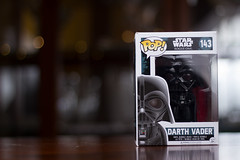 IMG_0020 (Alex Wilson Photography) Tags: product photography cool bokeh lens lenses canon canon600d 600d t3i 50mm 18 f18 nifty fifty niftyfifty darth vader rogue one star wars force awakens movie movies pop figure