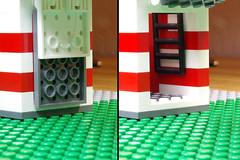 Entry Access (Evrant) Tags: star wars hammerhead corvette interior custom moc lego spaceship