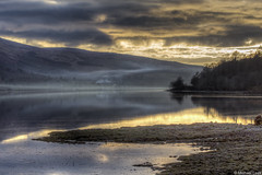 Winter sunset; Loch Fyne, Argyll & Bute, Scotland (Michael Leek Photography) Tags: scotland scottishlandscapes scottishcoastline scotlandslandscapes scottishhighlands lochfyne light thisisscotland awesomescotland michaelleek michaelleekphotography reflections reflectedlight sunset westcoastofscotland westernscotland