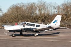 EGLK - Piper PA34 Seneca 2 - G-FLYI (lynothehammer1978) Tags: eglk blackbushe blackbusheairport gflyi piperpa34seneca2