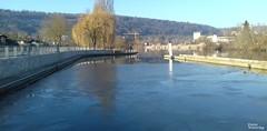 Es ist wieder kalt geworden am Main (diwe39) Tags: main eis würzburg winter201718